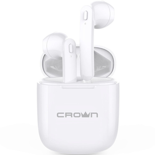 Наушники CROWN micro CMTWS-5002 white (CMTWS-5002white)