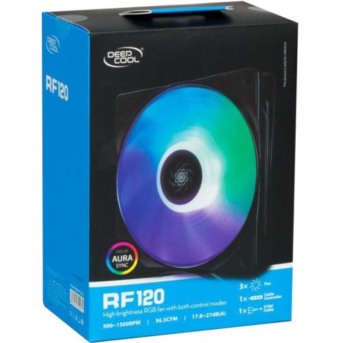 Охлаждение Deepcool RF120 RGB (RF120 RGB)