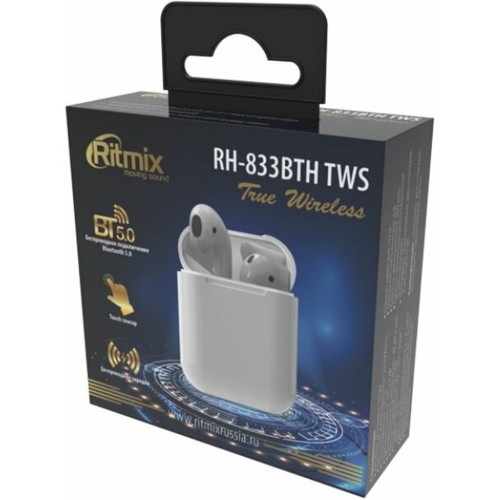 Наушники Ritmix RH-833BTH TWS (RH-833BTH TWS)