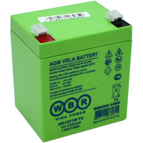 Сменные аккумуляторы АКБ для ИБП WBR HR1221W F2 (HR1221W F2)