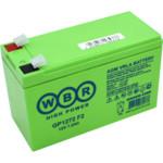 Сменные аккумуляторы АКБ для ИБП WBR GP1272 F2