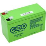 Сменные аккумуляторы АКБ для ИБП WBR GP1275 F2