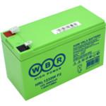 Сменные аккумуляторы АКБ для ИБП WBR HRL1235W F2