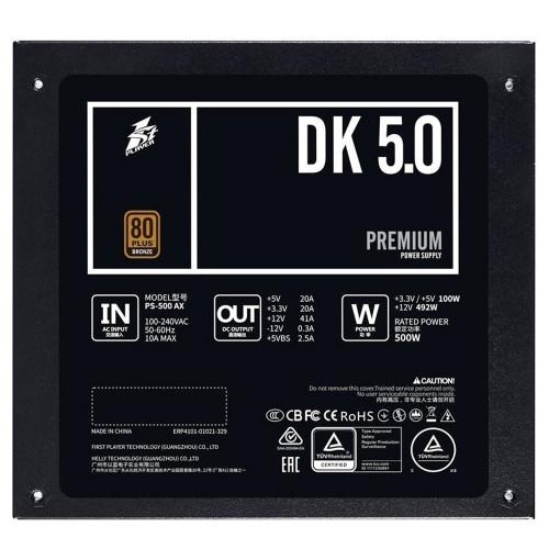 Блок питания 1STPLAYER DK PREMIUM PS-600AX (DK PREMIUM PS-600AX)