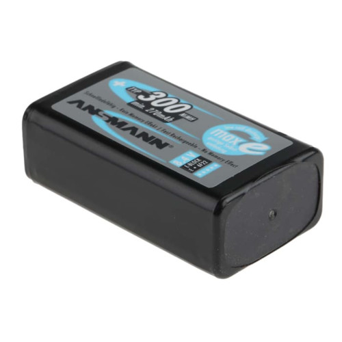 Батарейка Ansmann Перезаряжаемая аккумуляторная батарея 9 В (5035453)