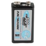 Батарейка Ansmann Перезаряжаемая аккумуляторная батарея 9 В