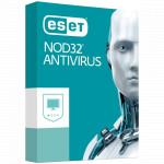 Антивирус Eset NOD32, подписка на 1 год, на 1 ПК