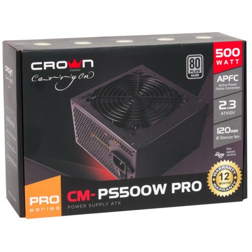 Блок питания CROWN micro CM-PS500W SMART (CM-PS500W SMART)
