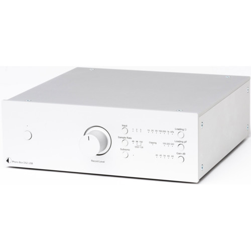Pro-Ject Phono Box DS2 USB Silver (EAN:9120071652937)