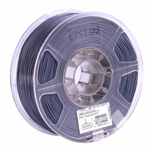 Расходный материалы для 3D-печати ESUN 3D ABS+ Пластик eSUN Grey/1.75mm/1kg/roll (ABS+175H1)