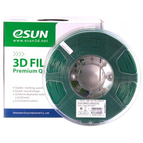 Расходный материалы для 3D-печати ESUN 3D ABS+ Пластик eSUN Pine Green/1.75mm/1kg/roll (ABS+175G1)