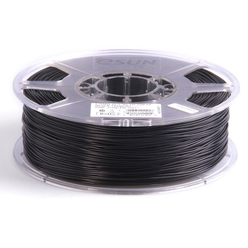 Расходный материалы для 3D-печати ESUN 3D PLA+ Пластик eSUN Black/1.75mm/1kg/roll (PLA+175B1)