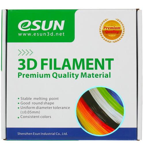 Расходный материалы для 3D-печати ESUN 3D PETG Пластик eSUN solid silver/1.75mm/1kg/roll (PETG175SS1)