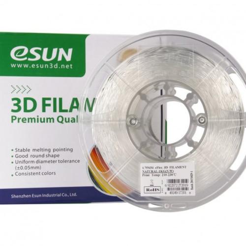 Расходный материалы для 3D-печати ESUN 3D eFlex Пластик eSUN Natural/1.75mm/1kg/roll (eFlex175N1)