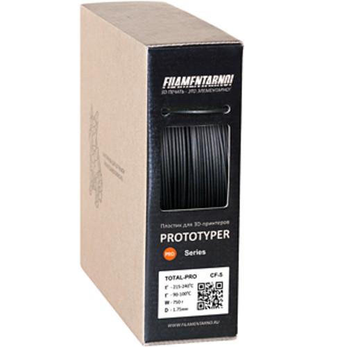 Расходный материалы для 3D-печати Filamentarno! 3D TOTAL CF-5 пластик Filamentarno! черный/1.75мм/750гр (CF-5 175Ч750)
