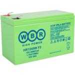 Сменные аккумуляторы АКБ для ИБП WBR HR1245W F2
