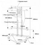 Аксессуар для проектора Intech WJ2200B