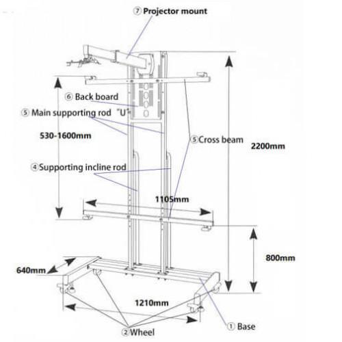 Аксессуар для проектора Intech WJ2200B (WJ2200B)