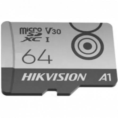 Флеш (Flash) карты Hikvision microSDHC HS-TF-M1 Class 10 (HS-TF-M1/64G)