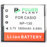 Аксессуар для фото и видео PowerPlant Аккумулятор Casio NP-130 1850mAh