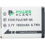 Аксессуар для фото и видео PowerPlant Аккумулятор Fuji NP-95 1800mAh