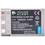 Аксессуар для фото и видео PowerPlant Аккумулятор Minolta NP-500,