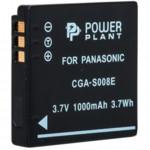 Аксессуар для фото и видео PowerPlant Аккумулятор Panasonic CGA-S008