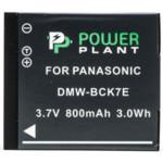 Аксессуар для фото и видео PowerPlant Аккумулятор Panasonic DMW-BCK7E 800mAh