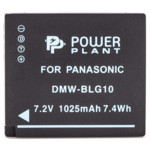 Аксессуар для фото и видео PowerPlant Panasonic DMW-BLG10, DMW-BLE9 1025mAh