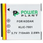 Аксессуар для фото и видео PowerPlant Аккумулятор Kodak KLIC-7001 710mAh