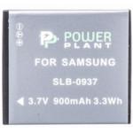 Аксессуар для фото и видео PowerPlant Аккумулятор Samsung SLB-0937 900mAh