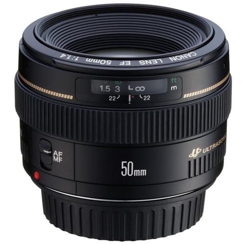 Аксессуар для фото и видео Canon EF 50mm f/1.4 USM (2515A012)