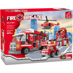 Аксессуар Ausini Игровой конструктор Пожарная бригада: Штаб пожарной бригады