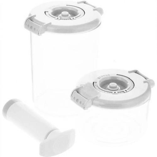 Прочее STATUS Контейнеры для вакуумных упаковщиков (VAC-RD-Round White)