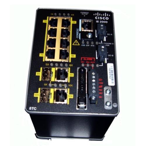 Коммутатор Cisco Industrial Ethernet 2000 (IE-2000-8TC-G-B)
