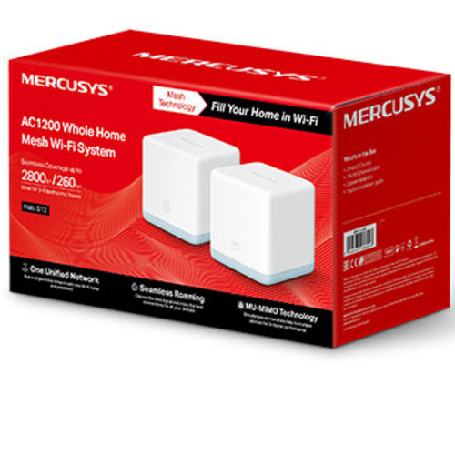 Маршрутизатор для дома Mercusys Halo S12(2-pack) (Halo S12(2-pack))