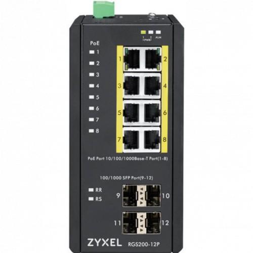 Коммутатор Zyxel RGS200-12P, (RGS200-12P-ZZ0101F)