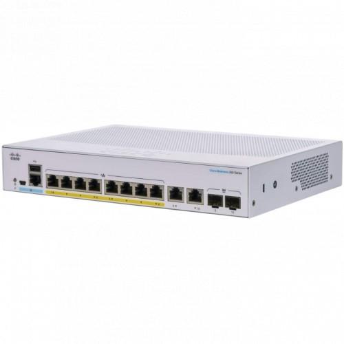 Коммутатор Cisco CBS250-8P-E-2G-EU (CBS250-8P-E-2G-EU)