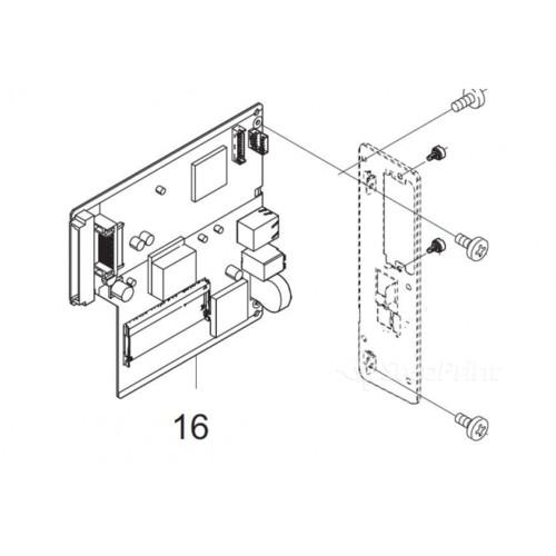 Опция для печатной техники Kyocera Главная плата питания 2L294070 PARTS PWB ASSY MAIN SP EU (2L294070)