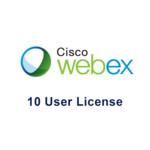 Лицензия Cisco Webex Meetings на 10 пользователей