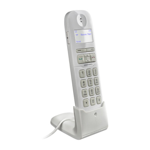 Аксессуар для телефона Polycom Телефонная USB трубка Plantronics Calisto P240 white (57898.001)