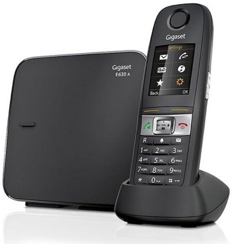 Аналоговый телефон Gigaset E630A Black (S30852-H2523-S301)